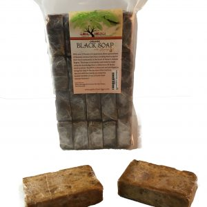 Global Moringa Black Soap with Moringa Oil